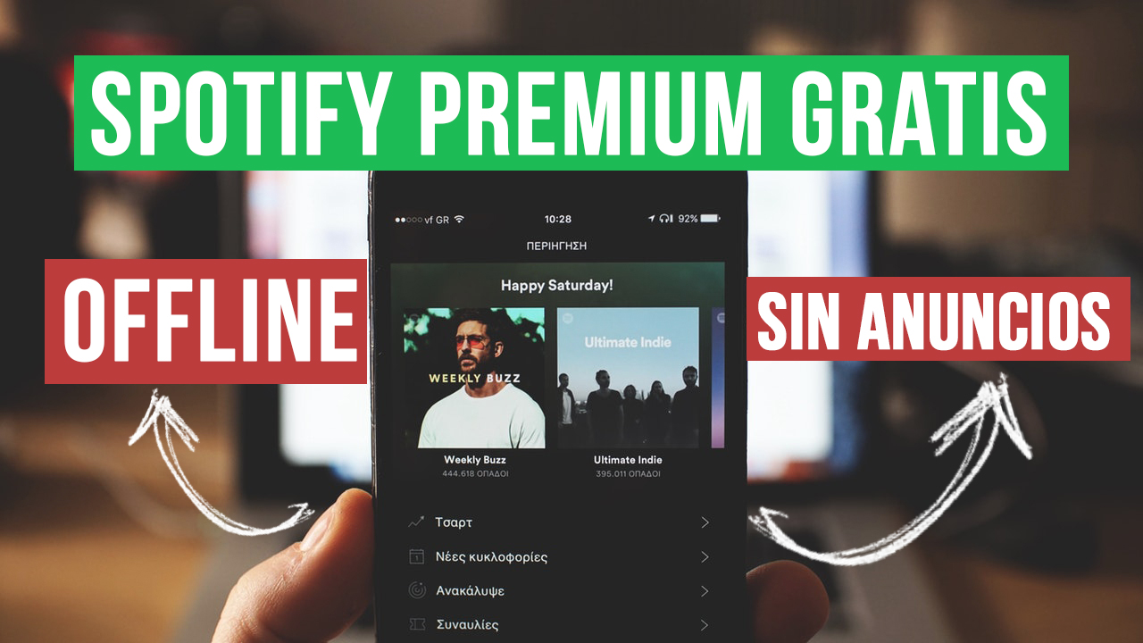 Descargar Spotify Premium APK MOD Sin Anuncios MODO OFFLINE