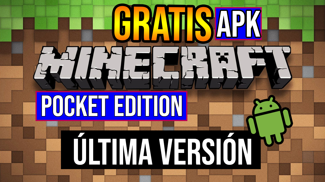 Descargar Minecraft Pocket Edition APK Sin Licencia Última Version