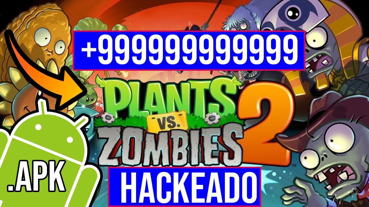 Descargar Plantas Vs Zombies 2 Hackeado para Android APK Oficial