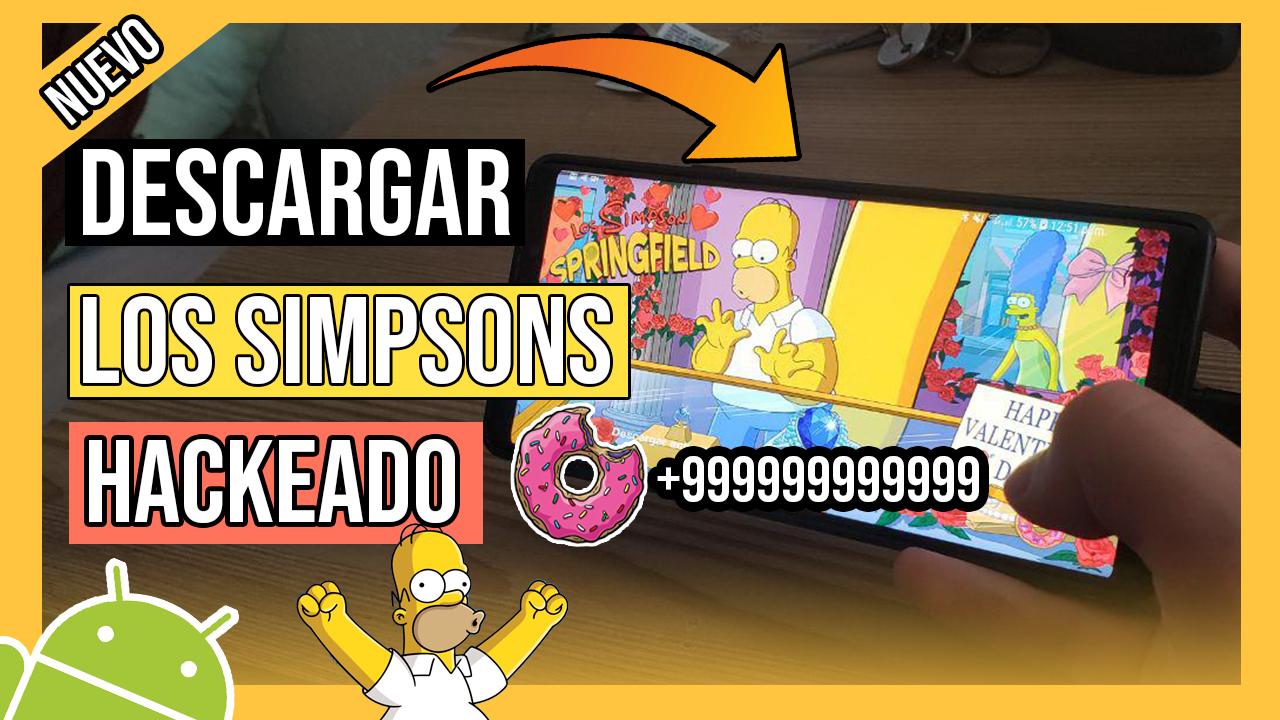 Descargar Los Simpson Springfield Hackeado Para Android APK Ultima Version
