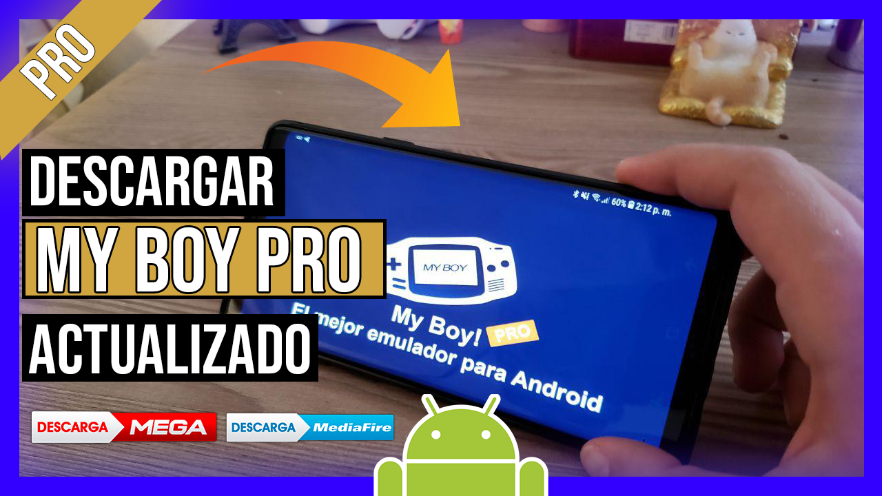 Descargar My Boy PRO! - GBA Emulator APK Para Android Ultima