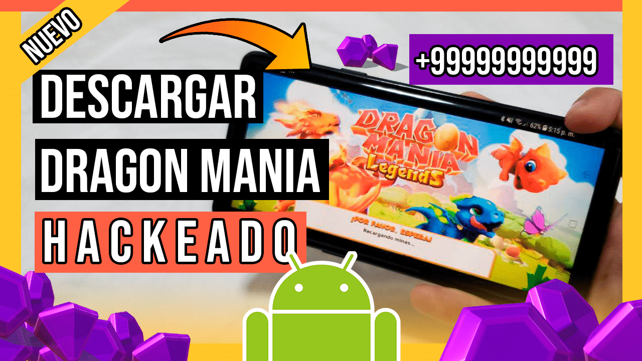 Descargar Dragon Mania Legends Hackeado Para Android APK Gemas y Monedas ILIMITADAS