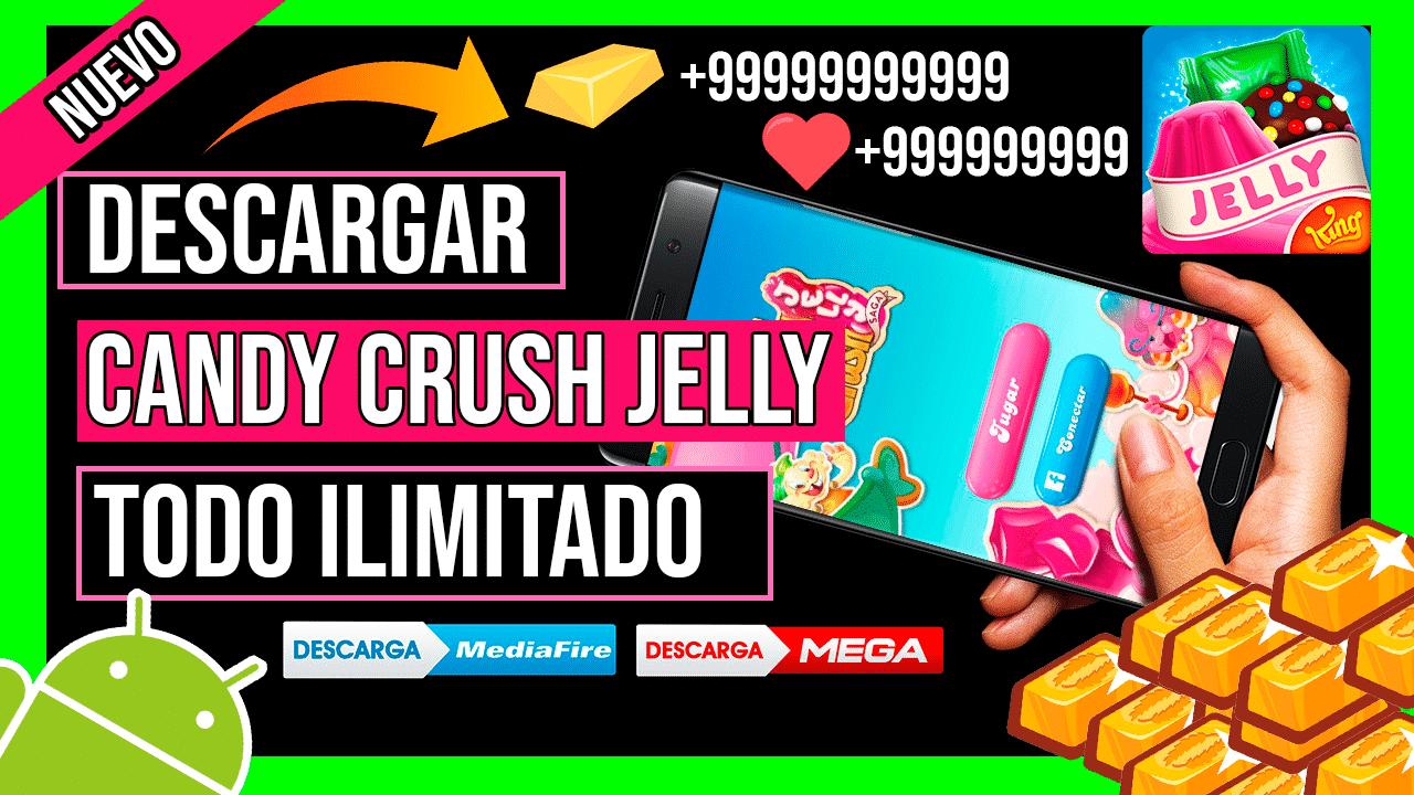 Descargar Candy Crush Jelly Saga APK Hackeado Para Android Ultima Version