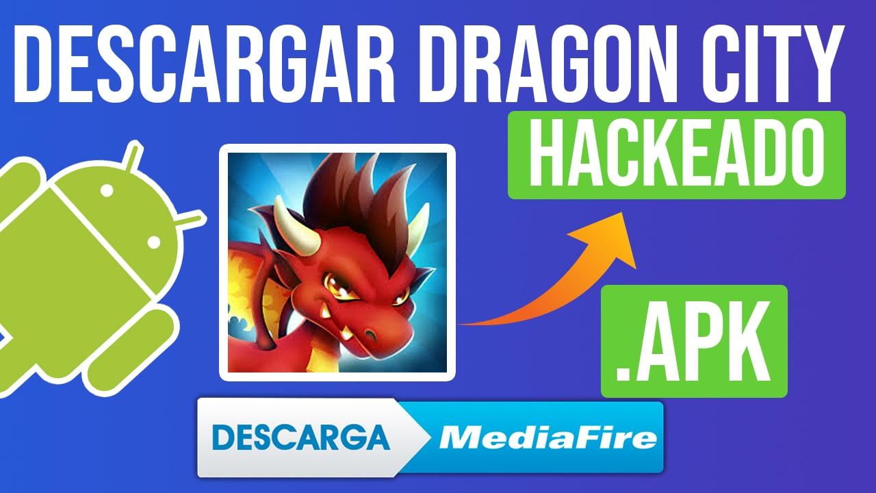 Descargar Dragon City Hackeado Para Android APK Oro, Gemas y Comida GRATIS