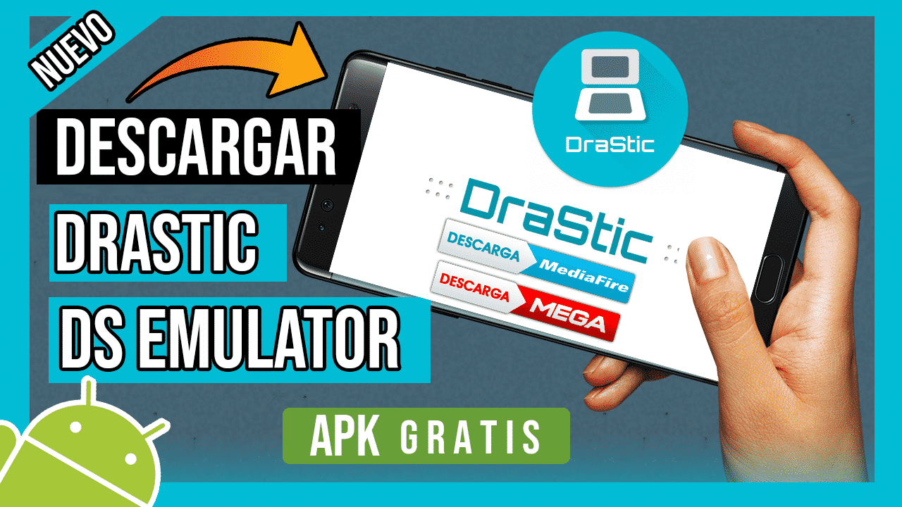 Descargar DraStic DS Emulator Full APK Para Android Sin Licencia