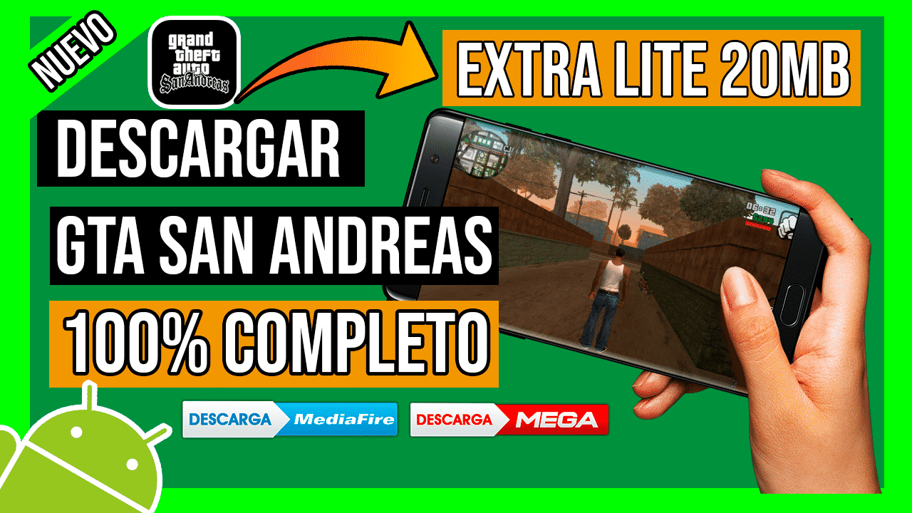Descargar GTA San Andreas LITE Para Android + CLEO MODS