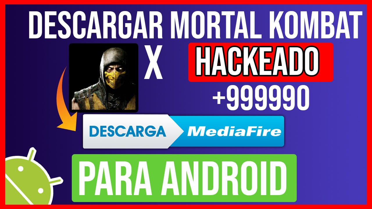 Descargar Mortal Kombat X APK Hackeado Para Android Personajes Desbloqueados