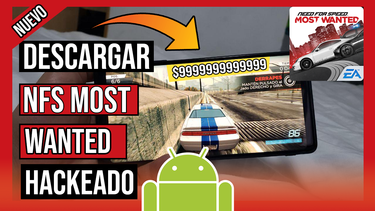 Descargar Need For Speed Most Wanted Hackeado Para Android APK Sin Licencia