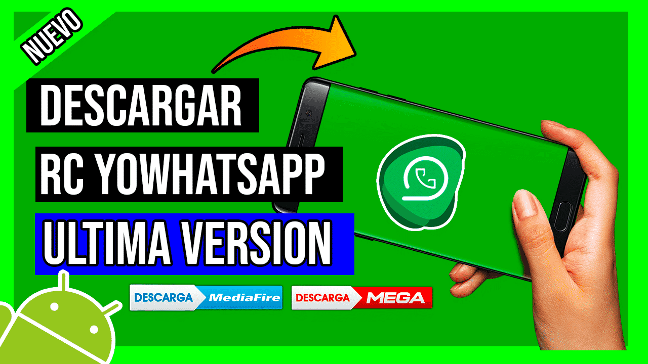 Descargar RC YoWhatsapp Para Android APK Ultima Version
