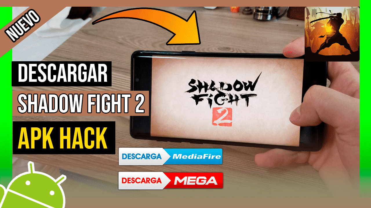 Descargar Shadow Fight 2 Hackeado Para Android APK Ultima Version TODO INFINITO