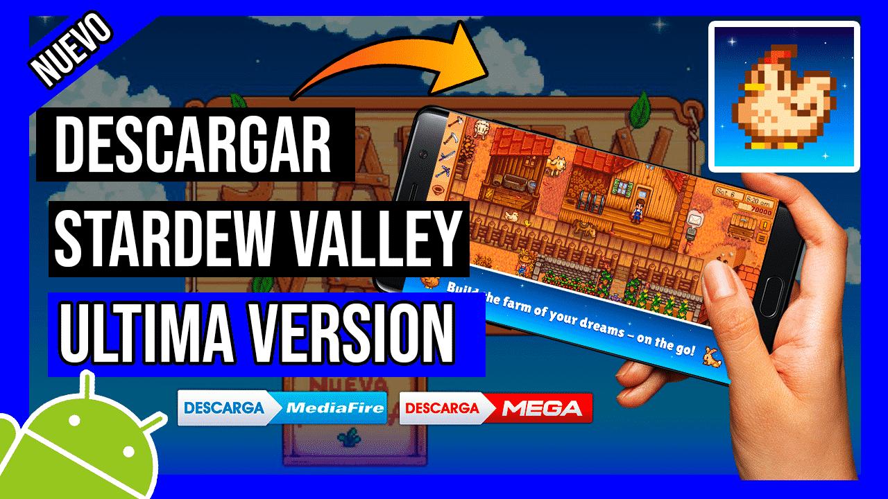Descargar Stardew Valley APK Gratis Para Android Ultima Version