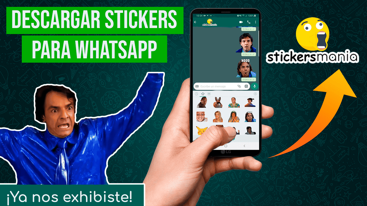 Descargar Packs de Stickers para Whatsapp con StickersMania