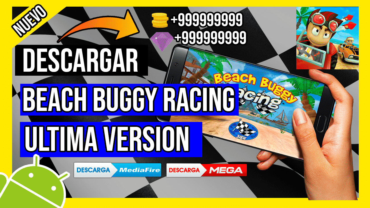 Descargar Beach Buggy Racing  Hackeado para Android APK Premium, Monedas y Gemas