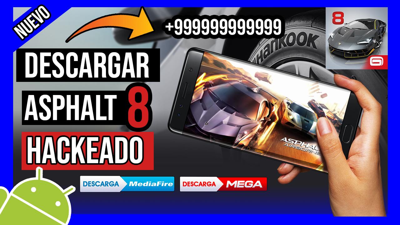 Descargar Asphalt 8 Airborne Hackeado Para Android TODO ILIMITADO
