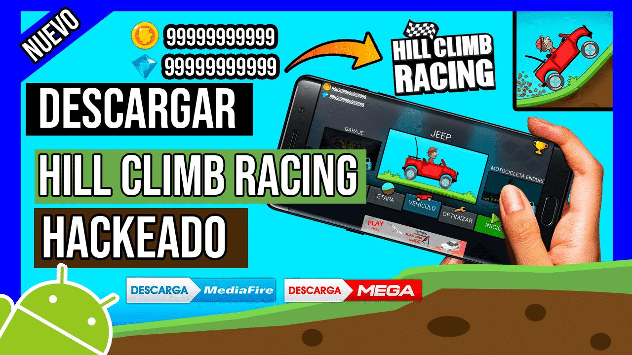 Descargar Hill Climb Racing Hackeado Para Android, Monedas y Gemas GRATIS