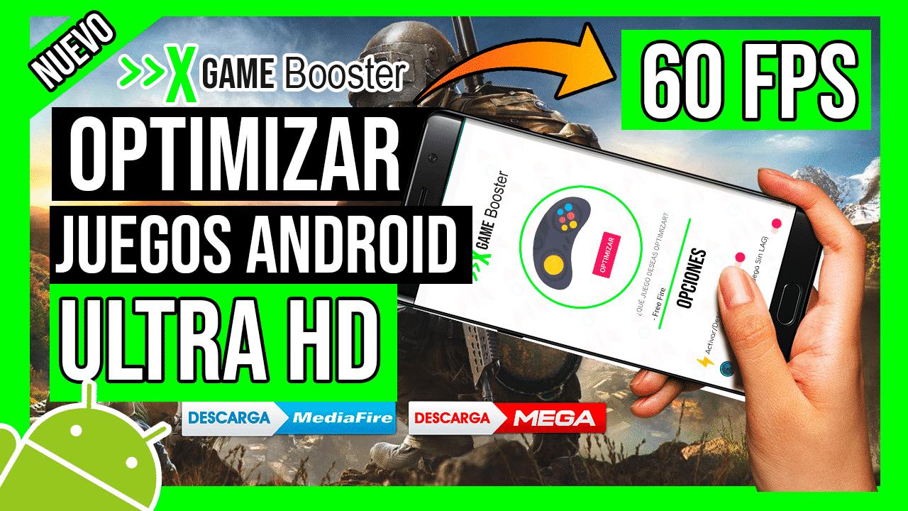 Descargar XGame Booster Optimiza Los Juegos Android a Ultra HD 60 FPS