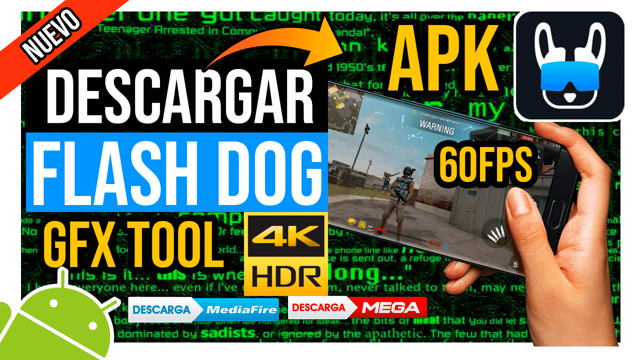 Descargar Flash Dog GFX Tool APK Para Android por Mediafire