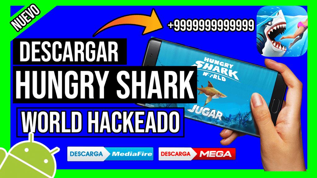 descargar hungry shark world hack apk
