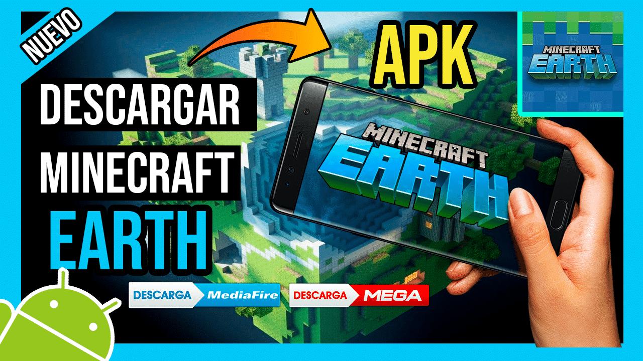 Descargar Minecraft Earth APK por Mediafire hackeado para Android