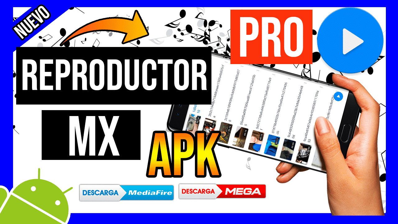 Descargar Reproductor MX Pro Gratis APK Para Android Ultima Version