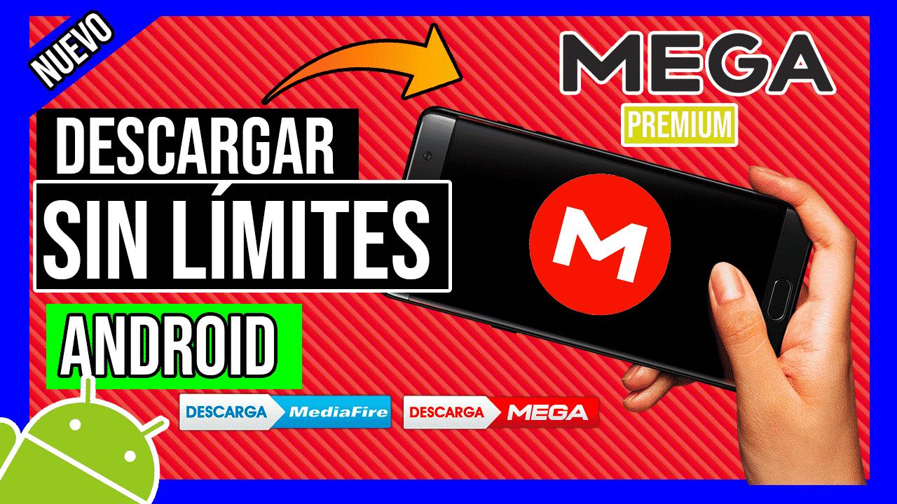 Descargar de MEGA Sin Limites con este APK Hackeado de MEGA