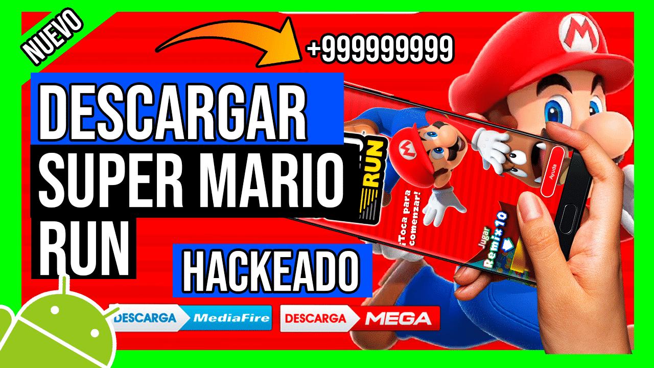 Descargar Super Mario Run Hackeado Para Android por Mediafire