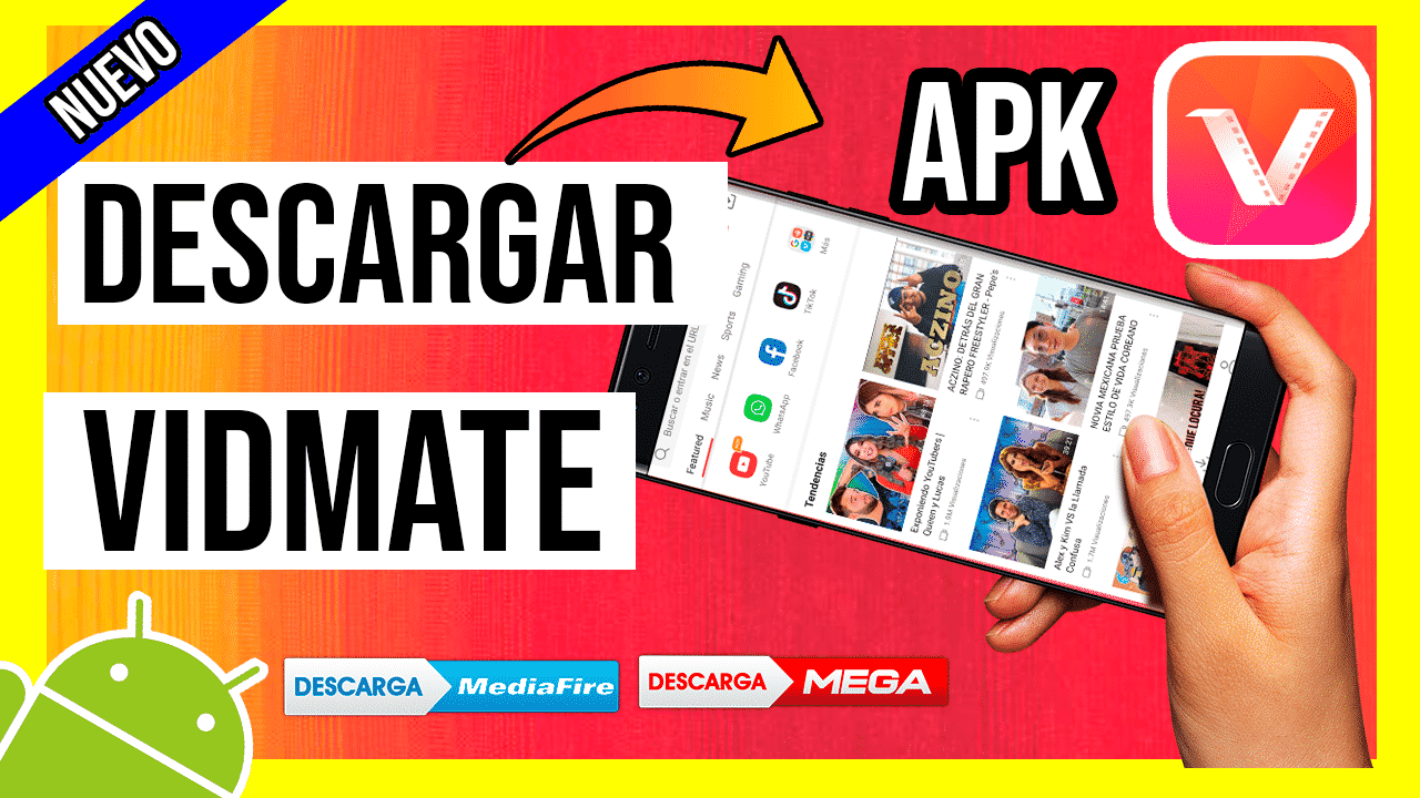 Descargar Vidmate APK Para Android Ultima Version por Mediafire