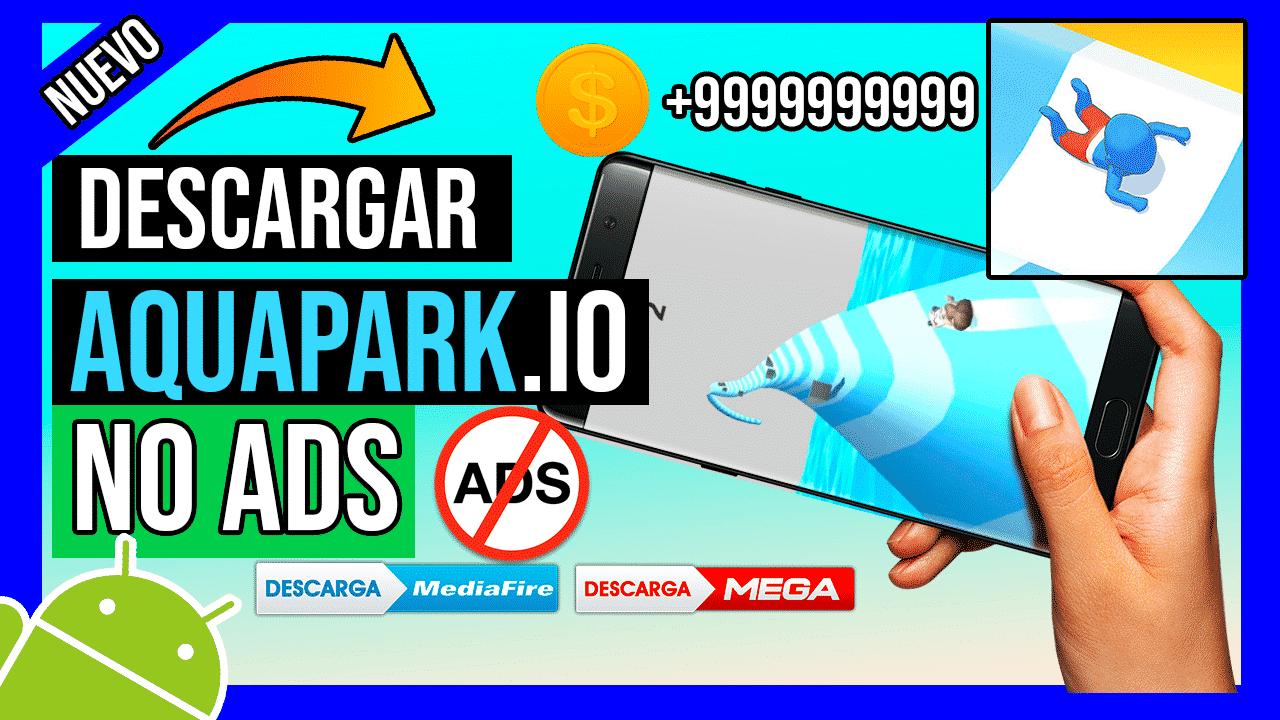 Descargar Aquapark.io APK Hackeado Para Android Sin Publicidad + Dinero Ilimitado