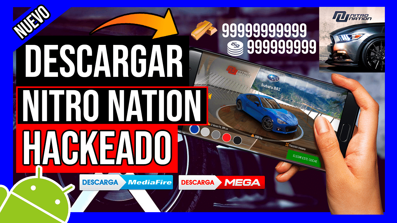 Descargar Nitro Nation Hackeado Para Android Oro y Creditos ILIMITADOS