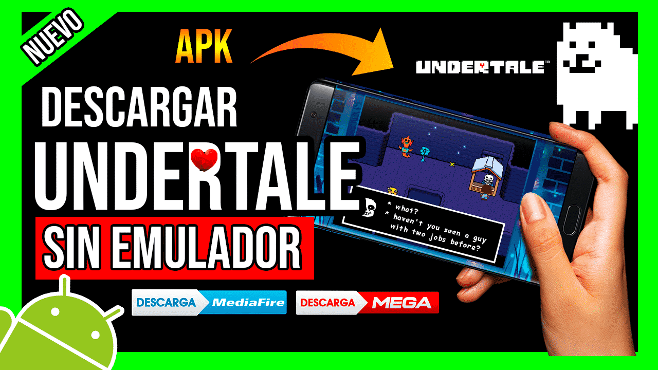 Descargar Undertale Para Android APK en Español Sin Emulador