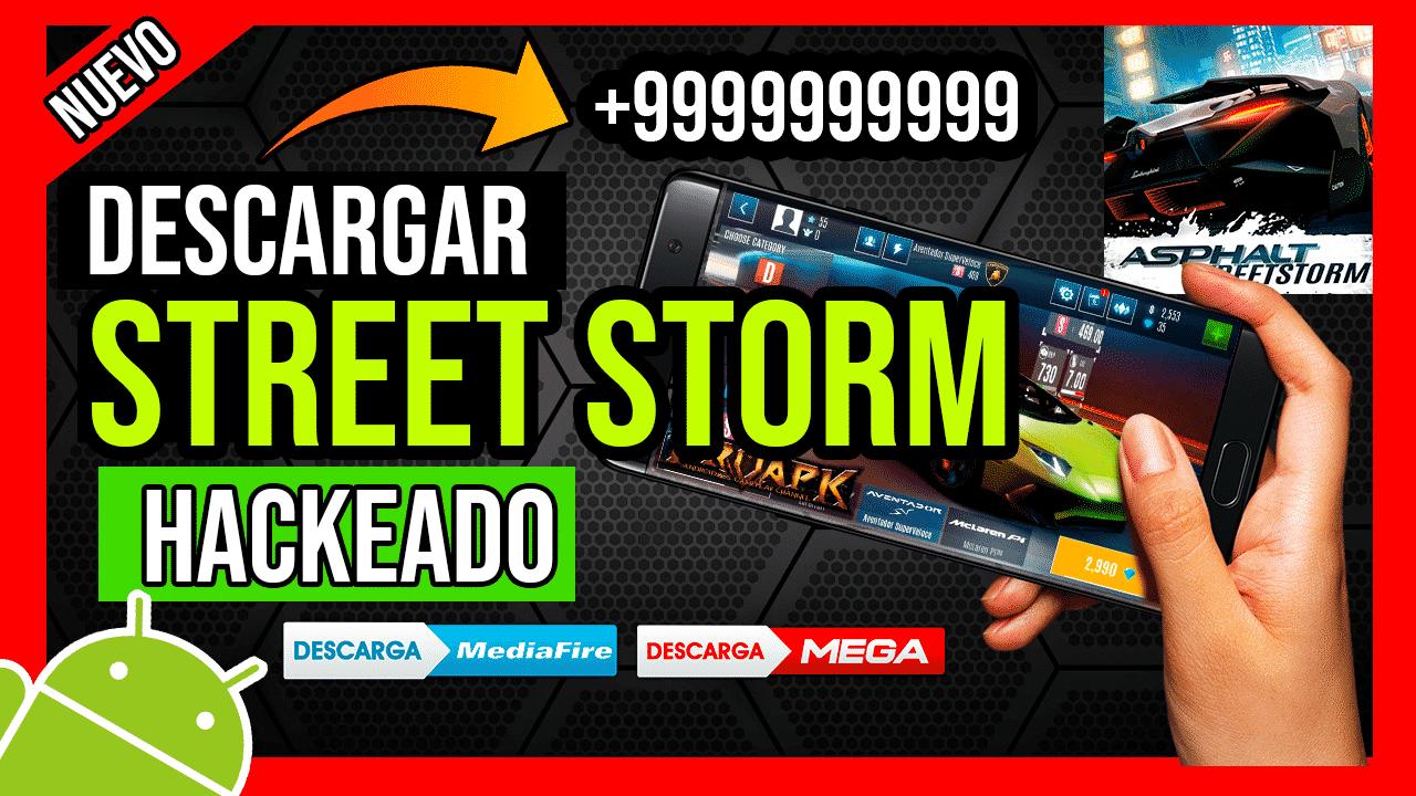 Descargar Asphalt Street Storm Hackeado APK Para Android Diamantes y Dinero