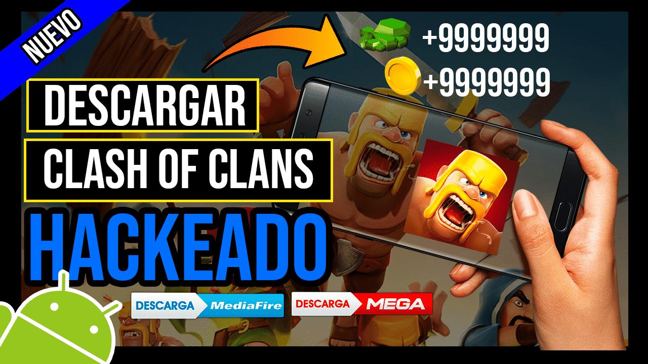 Descargar Clash of Clans Hackeado Para Android Oro y Gemas ILIMITADAS