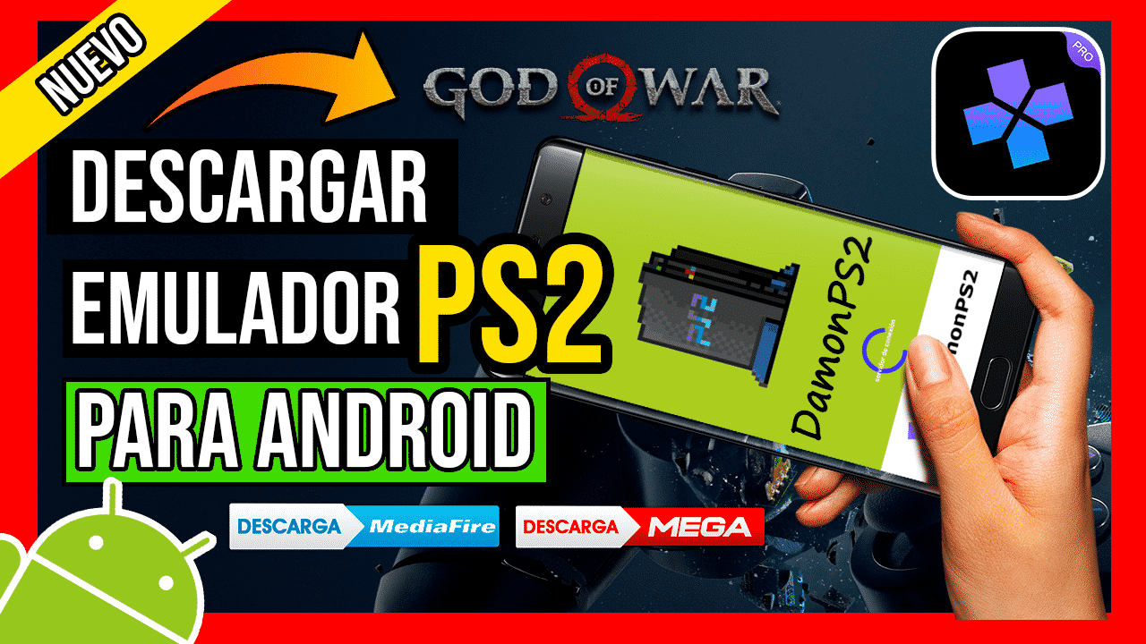 Descargar DamonPS2 Emulator PRO APK Para Android Ultima Version