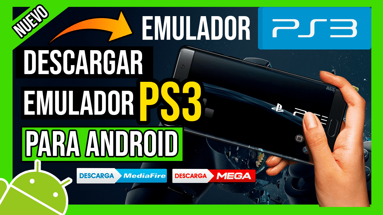 Descargar Emulador de PS3 Para Android APK Ultima Version