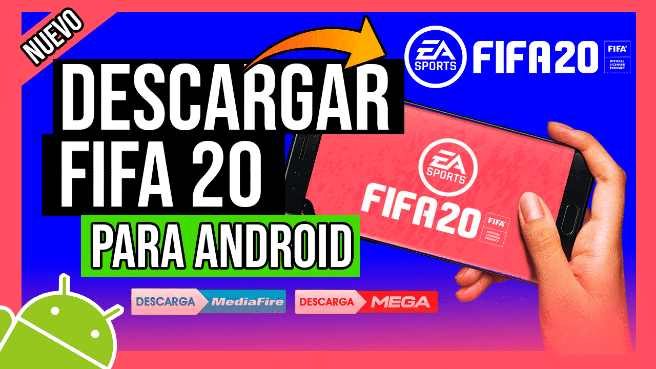 Descargar FIFA 20 Para Android + Modo Volta APK Oficial Ultima Version