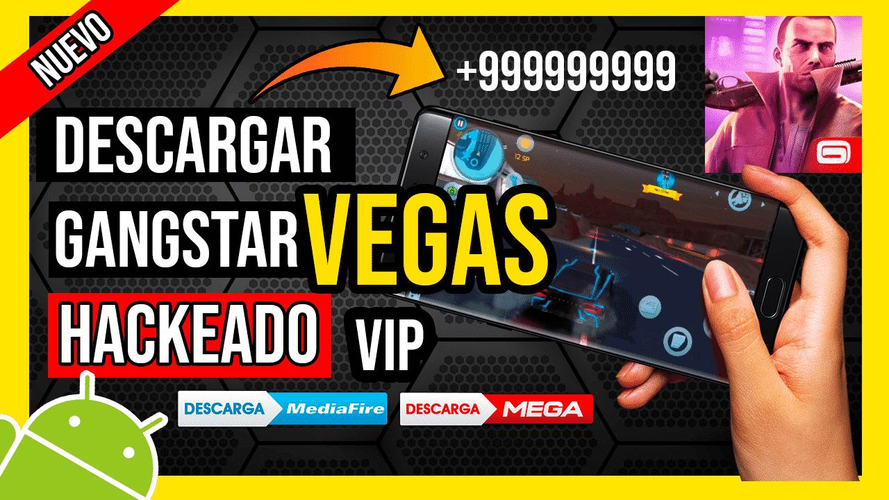 Descargar Gangstar Vegas Hackeado Para Android TODO Infinito + VIP