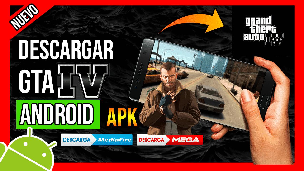 Descargar GTA IV Para Android APK OFICIAL