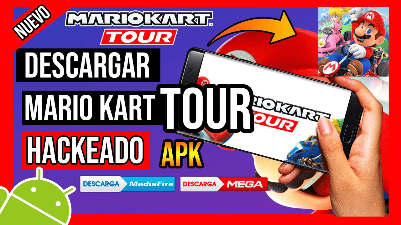 Descargar Mario Kart Tour Para Android APK Hackeado TODO ILIMITADO