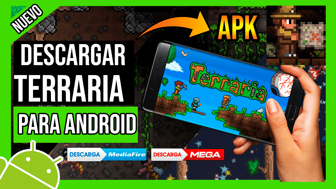 Descargar Terraria Para Android APK Gratis Ultima Version