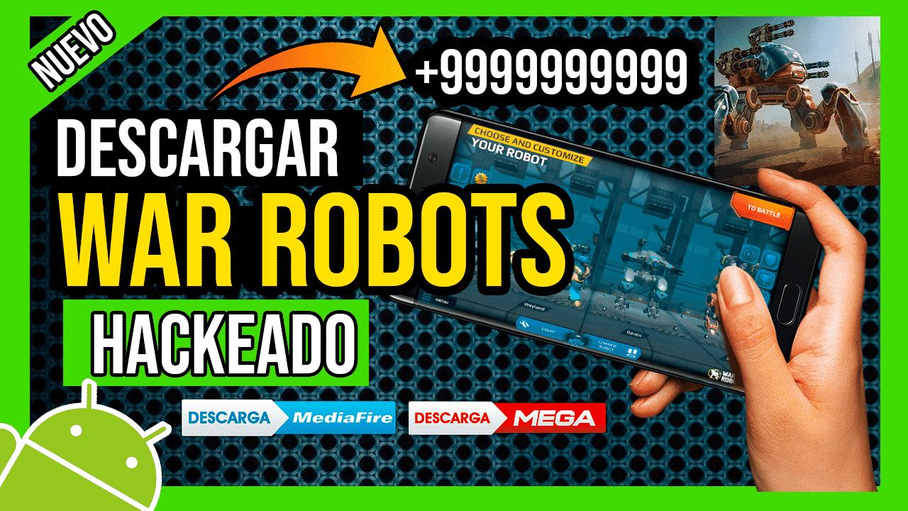 Descargar War Robots Hackeado Para Android APK Balas y Oro INFINITOS