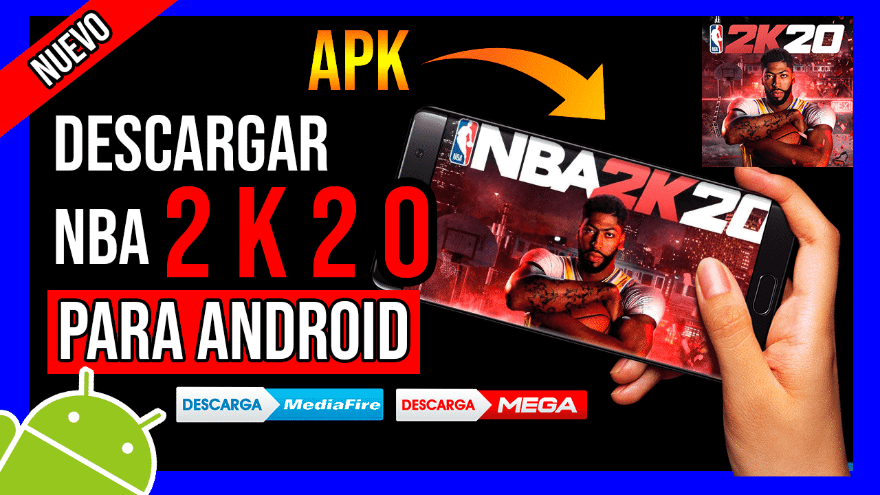Descargar NBA 2K20 APK Para Android GRATIS Ultima Version