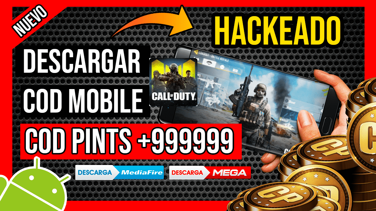 Descargar Call Of Duty Mobile APK Hackeado COD Points INFINITOS + Aimbot