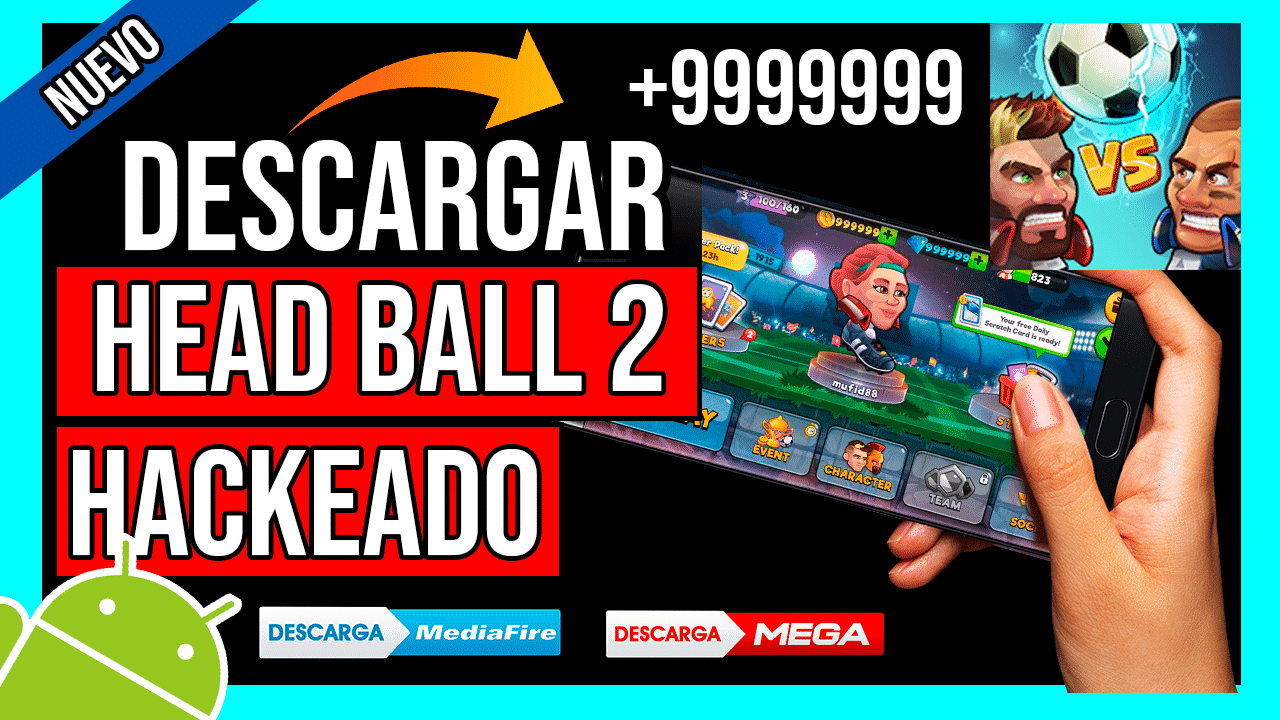 Descargar Head Ball 2 APK Hackeado Para Android Monedas y Diamantes INFINITOS