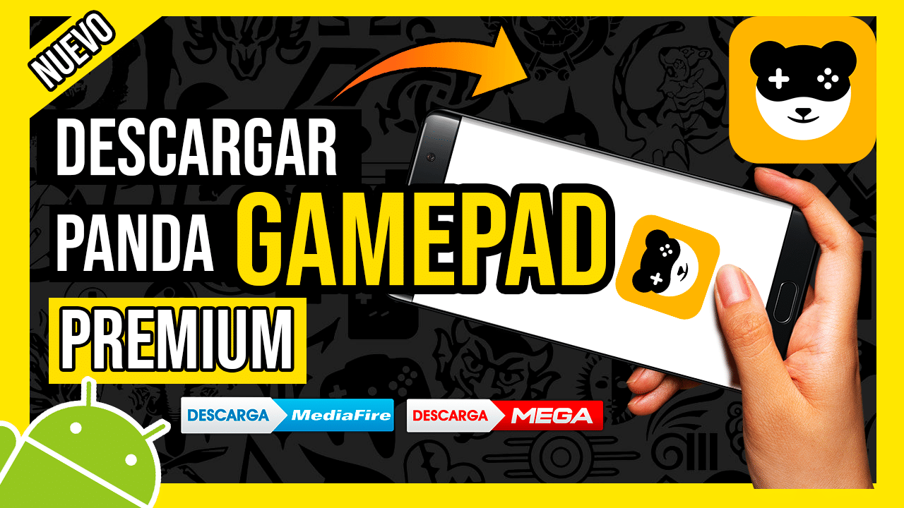 Descargar Panda Gamepad PRO Para Android APK