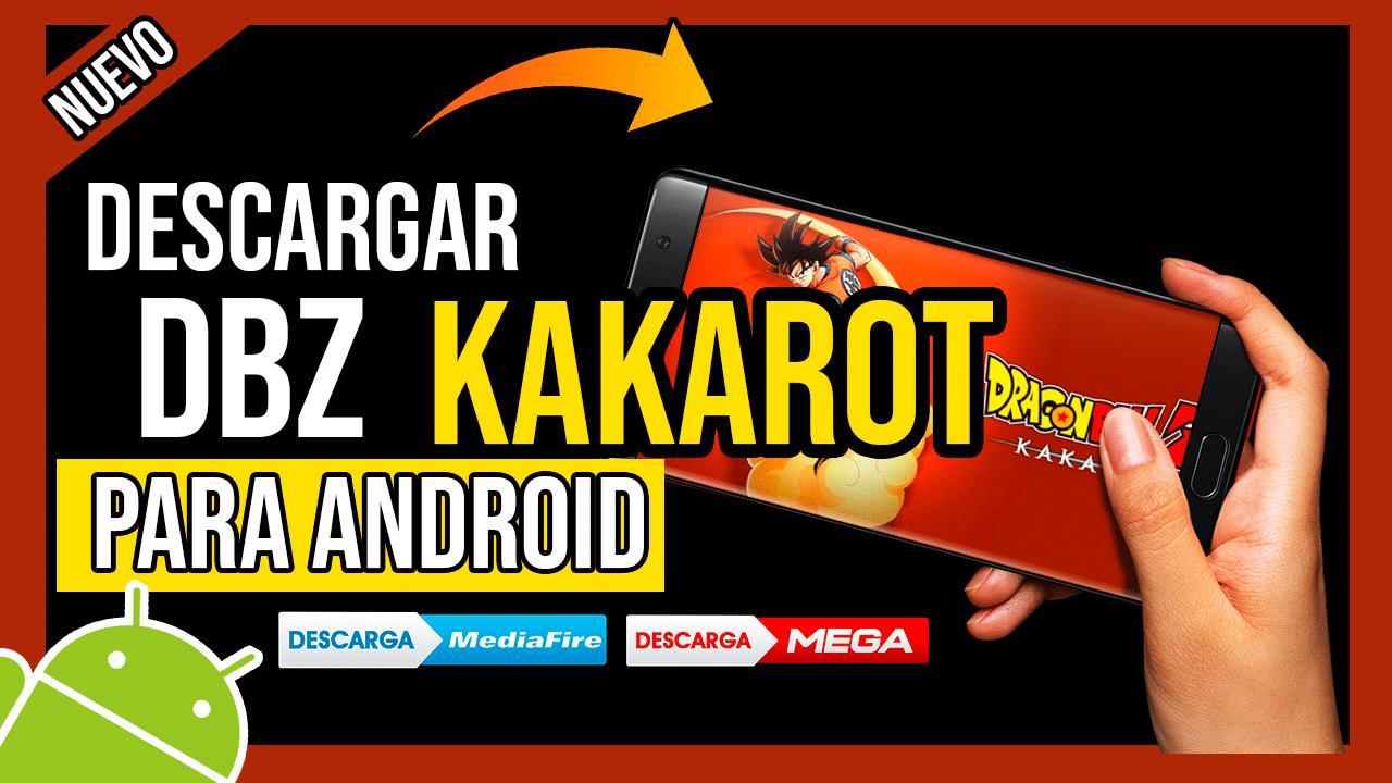 Descargar Dragon Ball Z Kakarot Para Android APK OFICIAL