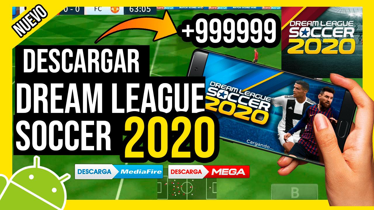 Descargar Dream League Soccer 2020 Hackeado Para Android MONEDAS INFINITAS