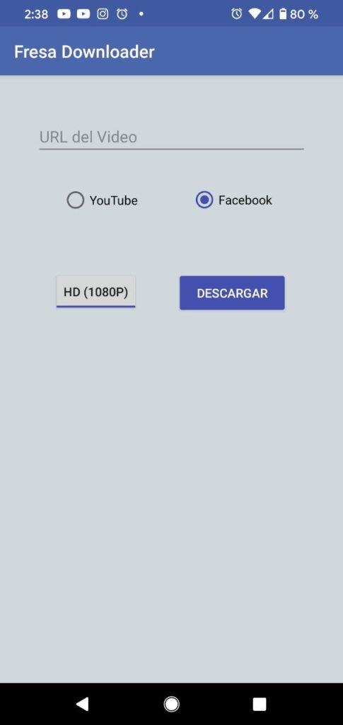 descargar videos de facebook android apk