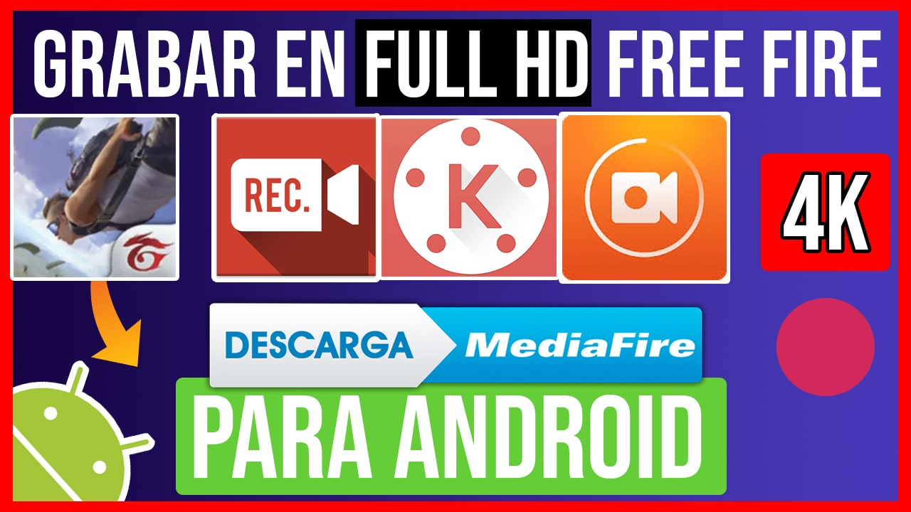 TOP Mejores Apps para Grabar en Free Fire SIN LAG con Audio Interno en HD