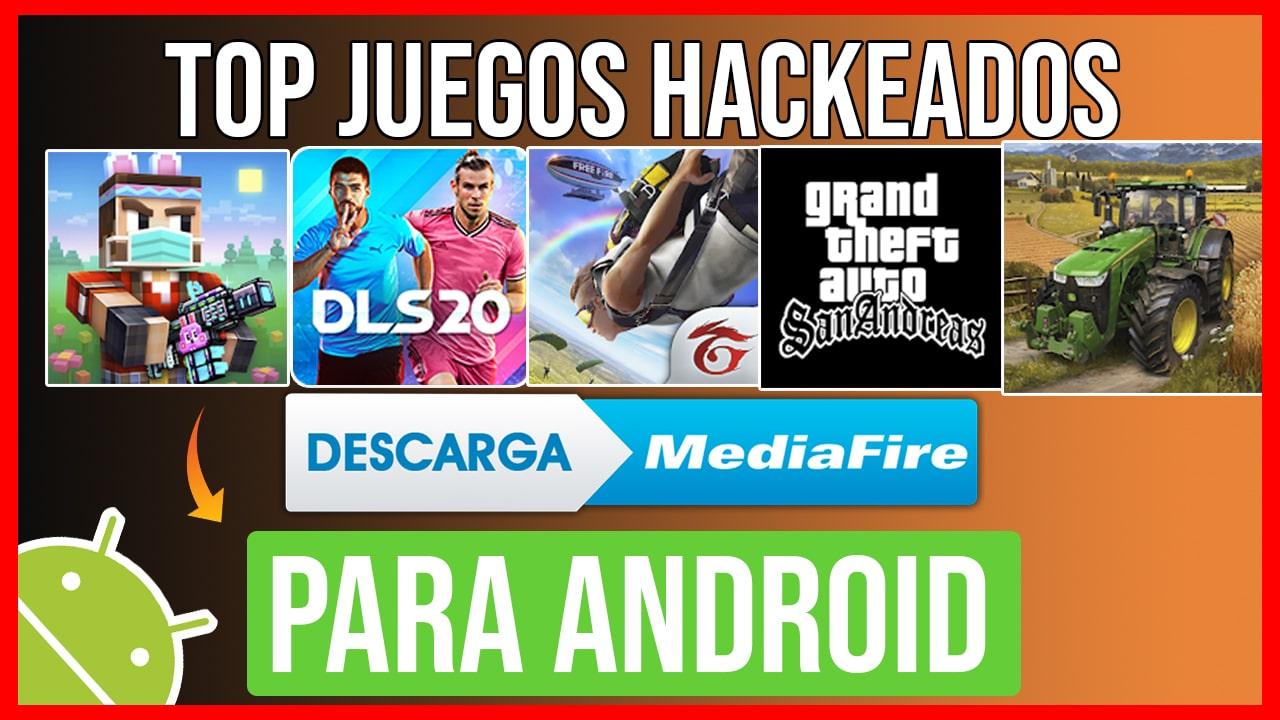 MEGA Top 10 Juegos Hackeados para Android 2020 por Mediafire TODO ILIMITADO
