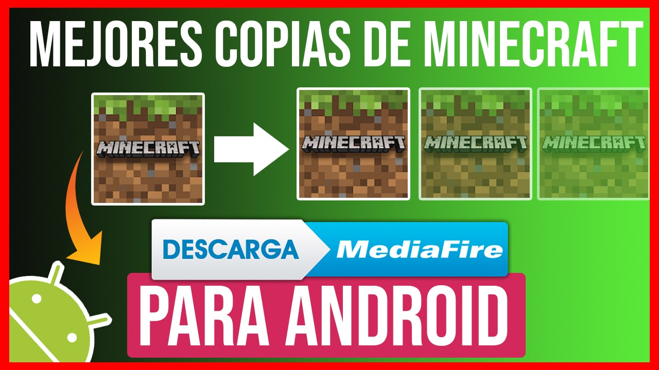 TOP Mejores Copias de Minecraft Para Android + Link de Descarga
